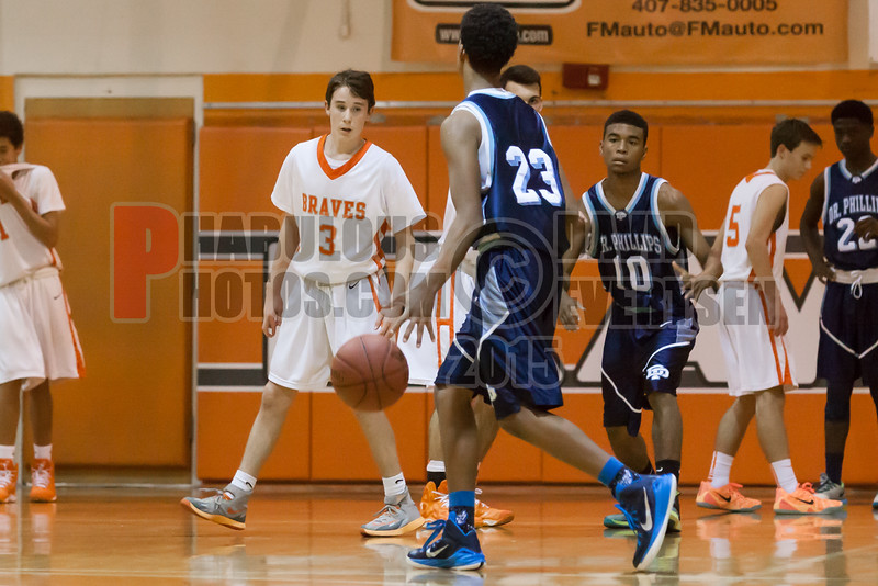 Dr  Phillips Panthers @ Boone Braves Boys Varsity Basketball - 2015 -DCEIMG-1860