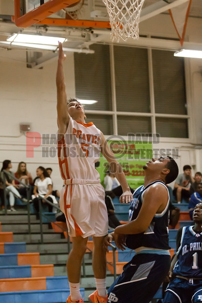Dr  Phillips Panthers @ Boone Braves Boys Varsity Basketball - 2015 -DCEIMG-2067