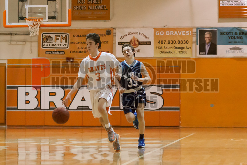 Dr  Phillips Panthers @ Boone Braves Boys Varsity Basketball - 2015 -DCEIMG-1910