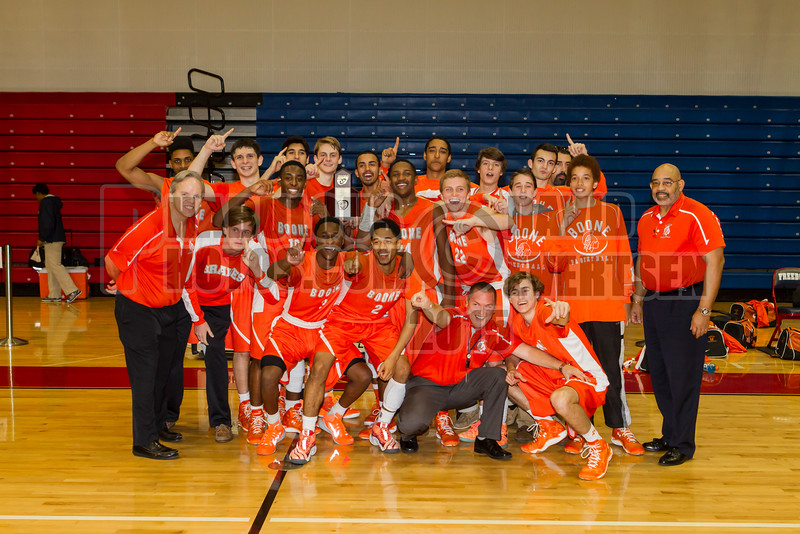 Dr  Phillips Panthers VS Boone Braves Boys Varsity Basketball District Championship Game  -  2015 -DCEIMG-4053