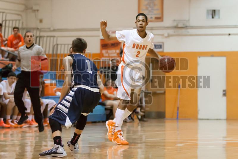 Lake Howell Silver Hawks @ Boone Braves Boys Varsity Basketball - 2014-DCEIMG-7628