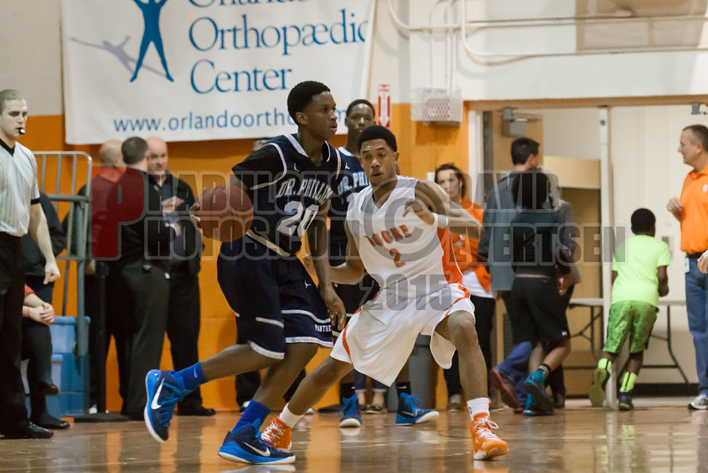Dr  Phillips Panthers @ Boone Braves Boys Varsity Basketball - 2015 -DCEIMG-2378