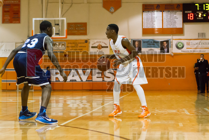 Dr  Phillips Panthers @ Boone Braves Boys Varsity Basketball - 2015 -DCEIMG-1277