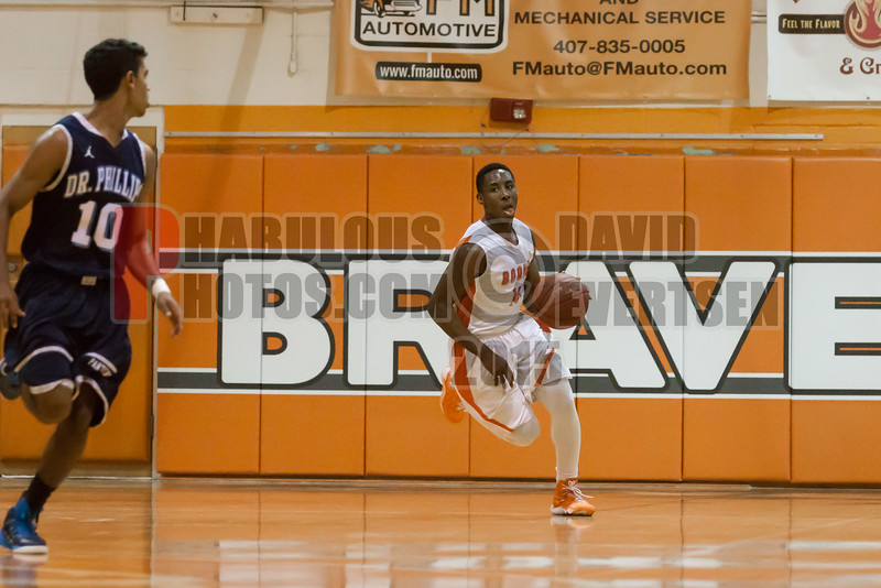 Dr  Phillips Panthers @ Boone Braves Boys Varsity Basketball - 2015 -DCEIMG-2224