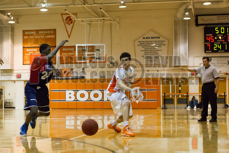 Dr  Phillips Panthers @ Boone Braves Boys Varsity Basketball - 2015 -DCEIMG-1368