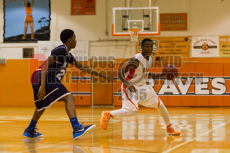 Dr  Phillips Panthers @ Boone Braves Boys Varsity Basketball - 2015 -DCEIMG-1242