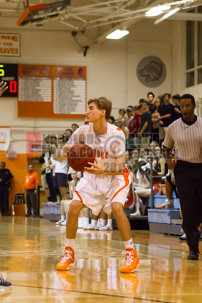 Lake Howell Silver Hawks @ Boone Braves Boys Varsity Basketball - 2014-DCEIMG-4024