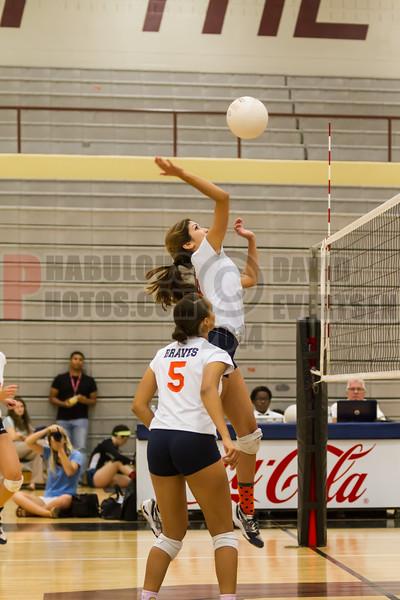Boone Braves vs Freedom Patrioits Girls Vollyeball District Semifinals  -  2014 - DCEIMG-7000