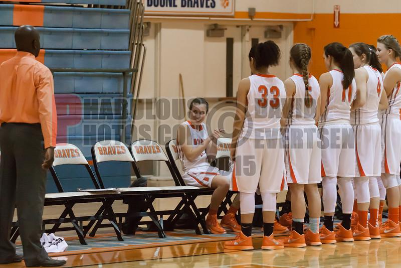 Evan Trojans @ Boone Braves Girls Varsity Basketball - 2015 -DCEIMG-2669