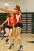 Boone Braves @ Oak Ridge Pioneers Girls Varsity Volleyball - 2014- DCEIMG-3171