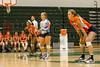 Boone Braves @ Oak Ridge Pioneers Girls Varsity Volleyball - 2014- DCEIMG-3067