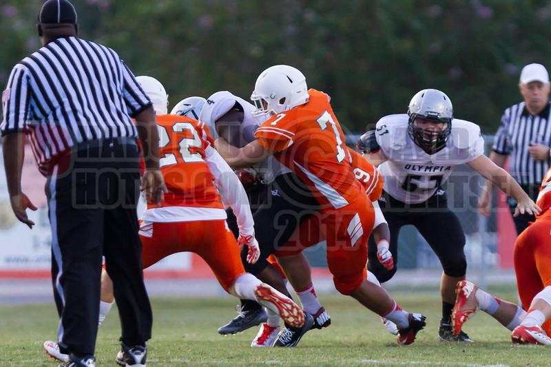 Olympia Titans @ Boone Braves Varsity Football 2014 DCEIMG-0209