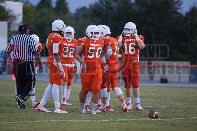 Olympia Titans @ Boone Braves Varsity Football 2014 DCEIMG-3087