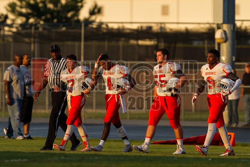Boone Braves @ Wekiva Mustangs Varsity Football -  2015 - DCEIMG-8635