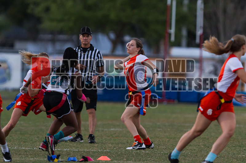 Olympia Titans @ Boone Braves Girls Varsity Flag Football   - 2016  - DCEIMG-6374