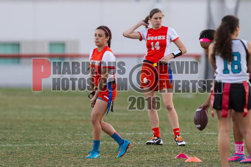 Olympia Titans @ Boone Braves Girls Varsity Flag Football   - 2016  - DCEIMG-6331