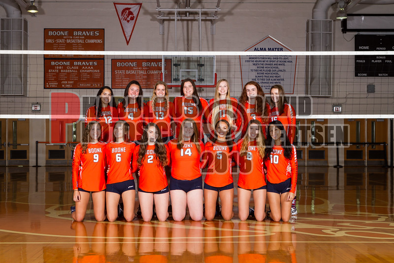 Boone Girls Volleyball Team Photos - 2016  - DCEIMG-3052