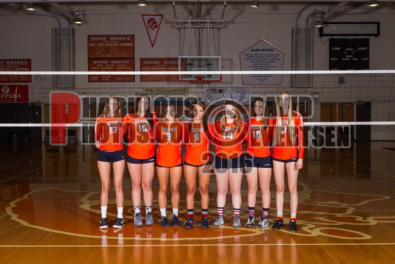 Boone Girls Volleyball Team Photos - 2016  - DCEIMG-3069