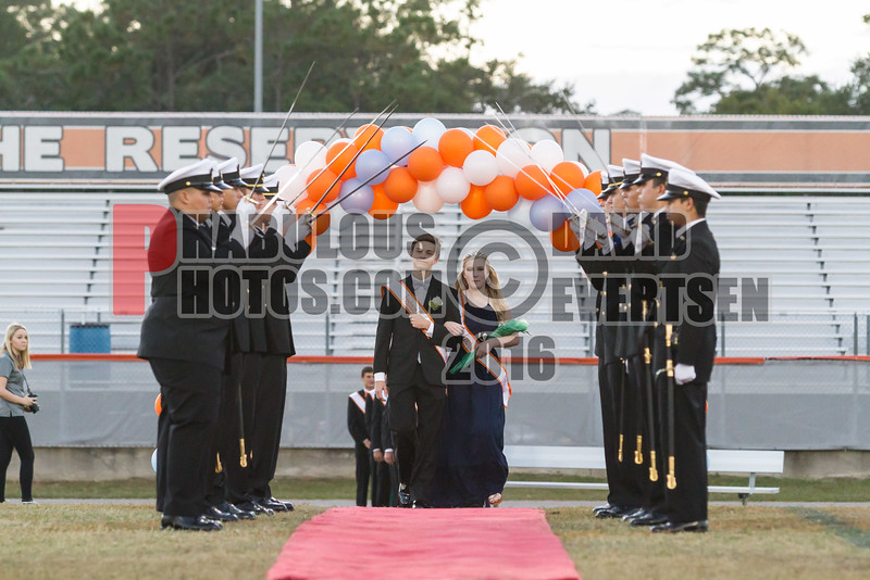 Boone Braves Homecoming Court - 2016 -DCEIMG-9270