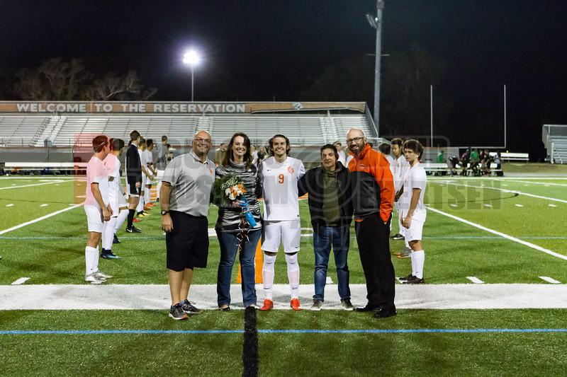 Boone Boys Soccer Senior Night -  2018- DCEIMG-5094
