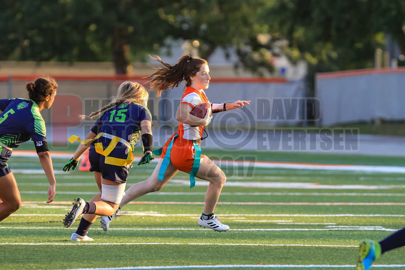Windermere Wolverines @ Boone Braves Girls Varsity Flag Football  -  2018- DCEIMG-9736