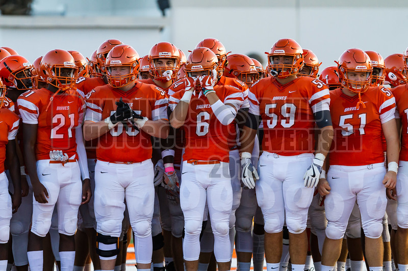 Saint Cloud Bulldogs @ Boone Braves Varisty Football -  2018- DCEIMG-1164