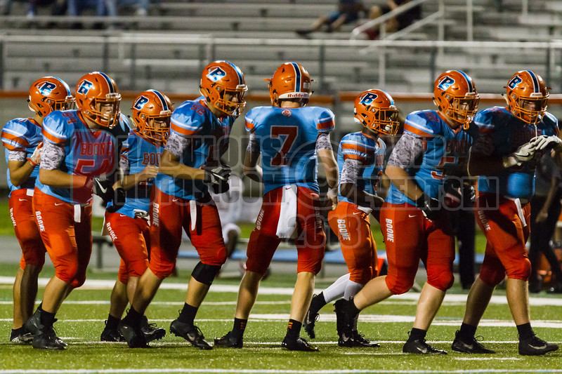 Gateway Panthers @ Boone Boone Braves Varsity Football  -  2018- DCEIMG-2456