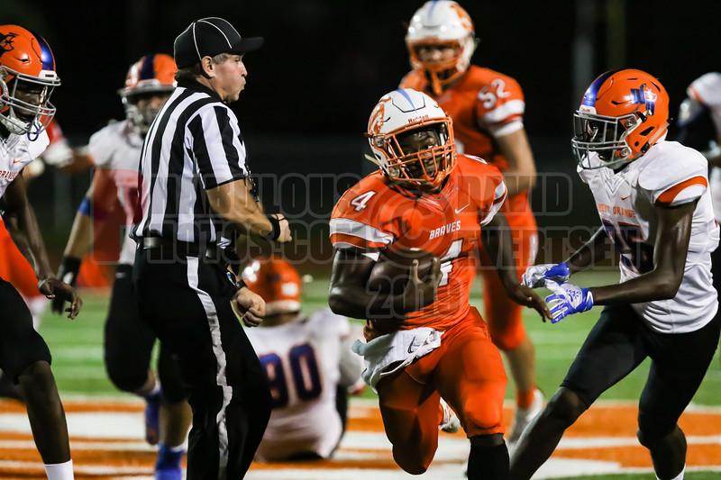 West Orange Warriors @ Boone Braves Varsity Football -2019-DCEIMG-1616