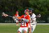 FHSAA  Boys Varsity Lacrosse William R. Boone High School Braves @ Bishop Moore Catholic High School Hornets @ 3/15/2012.