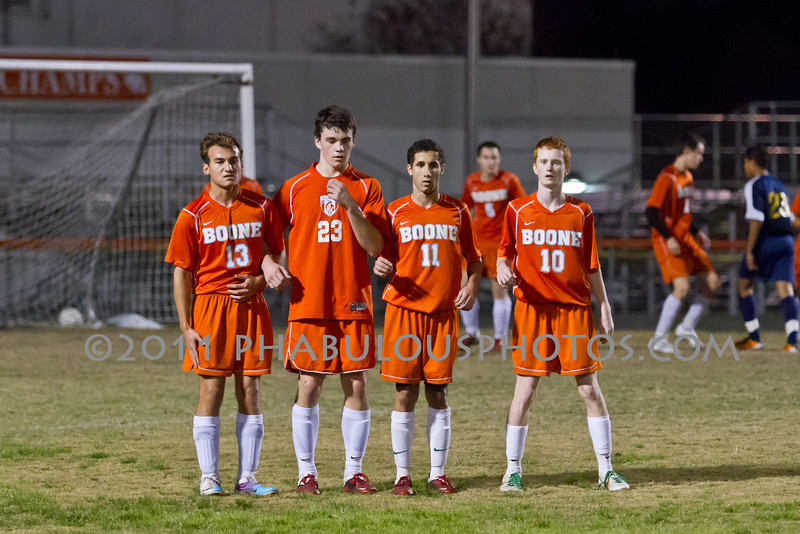 University @ Boone Boys Varsity Soccer - 2012  DCEIMG-1535