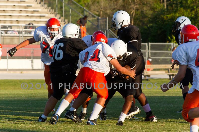 Boone @ Cypress Creek JV Football 2011 DCEIMG-5783