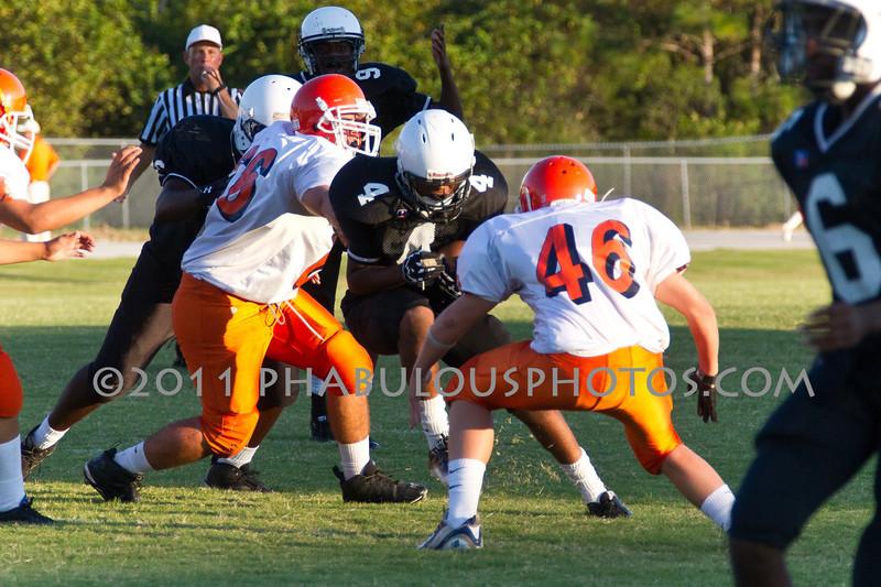 Boone @ Cypress Creek JV Football 2011 DCEIMG-5777