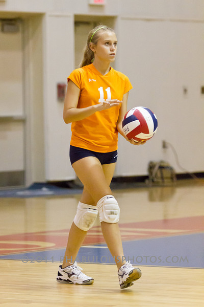 Boone Braves @ Freedom Girls Varsity Volleyball 2011 DCEIMG-4352
