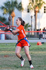 FHSAA Girls Varsity Flag Football - East River High School Falcons @ William R. Boone High School Braves 3/13/2012.