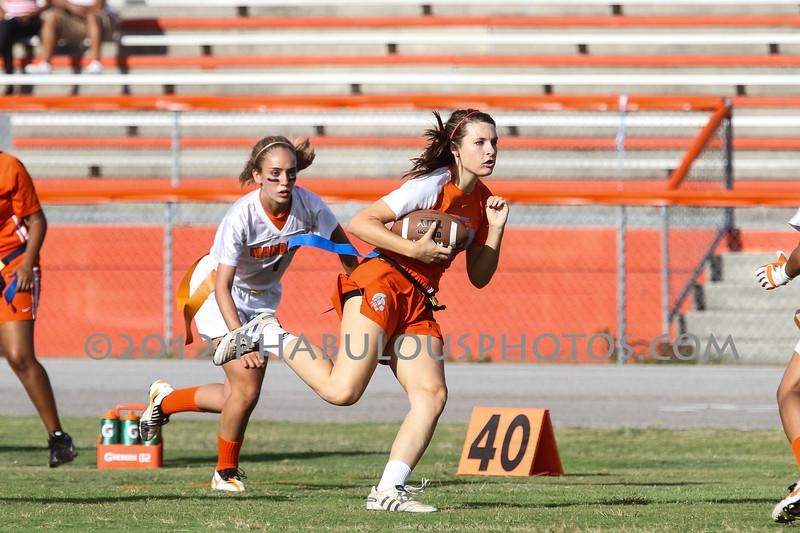 Jacksonville Mandarin @ Boone Girls Varsity Flag Football Playoffs - 2012 - DCEIMG-5861