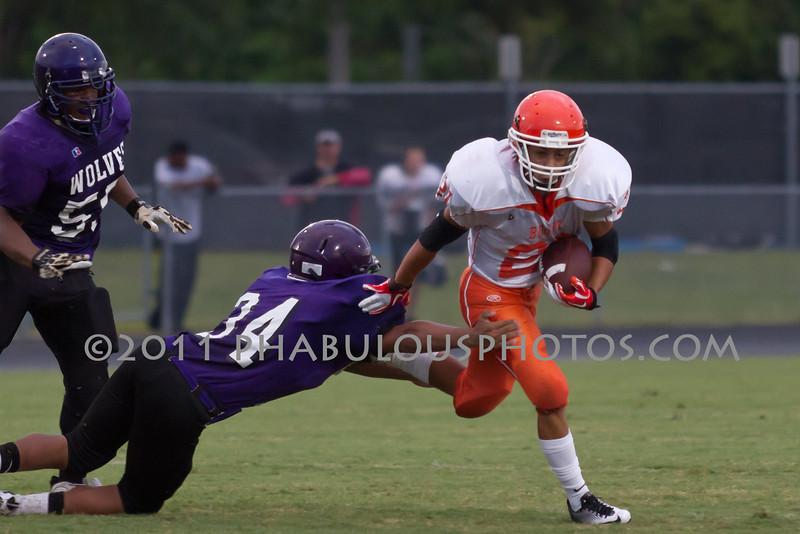 Boone Braves @ Timber Creek JV Football - 2011 DCEIMG-1745