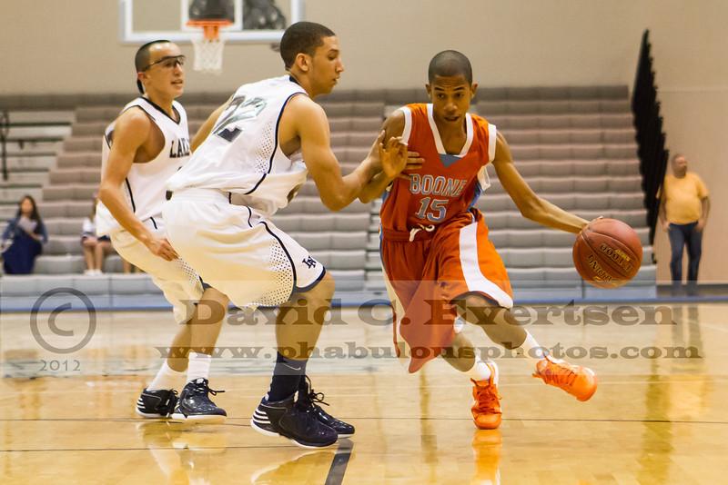 Boone Braves @ Lake Nona Lions Boys Varsity Basketball - 2013  DCEIMG-3331