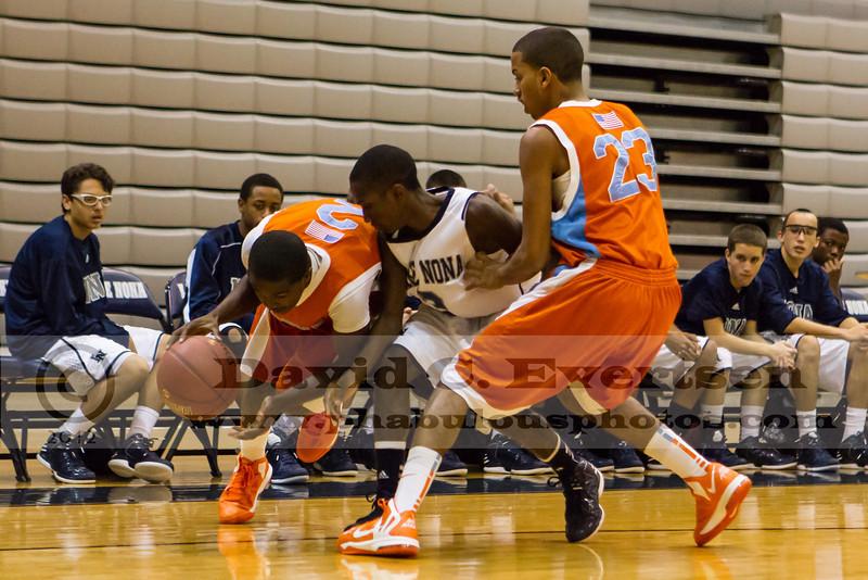 Boone Braves @ Lake Nona Lions Boys Varsity Basketball - 2013  DCEIMG-3259