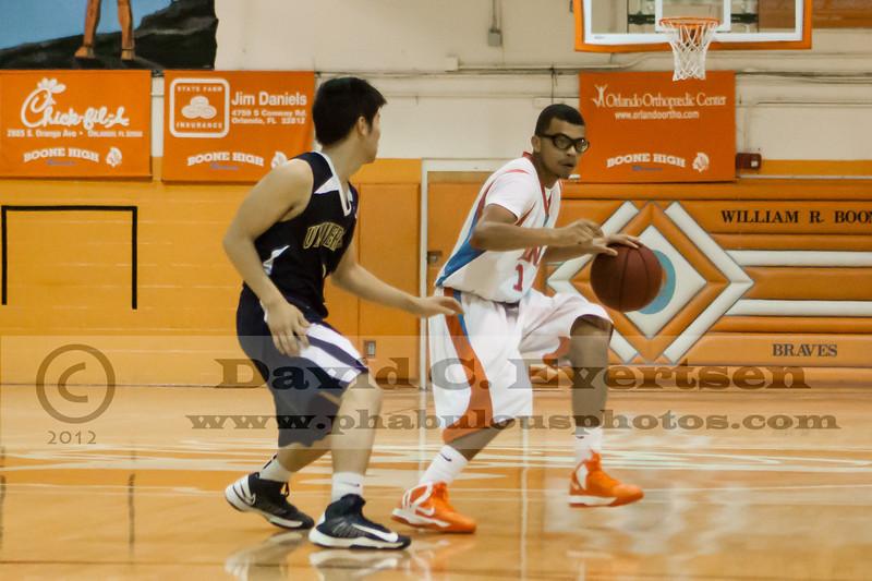 University Cougars @ Boone Braves Boys Varsity Basketball  - 2013  DCEIMG-8753