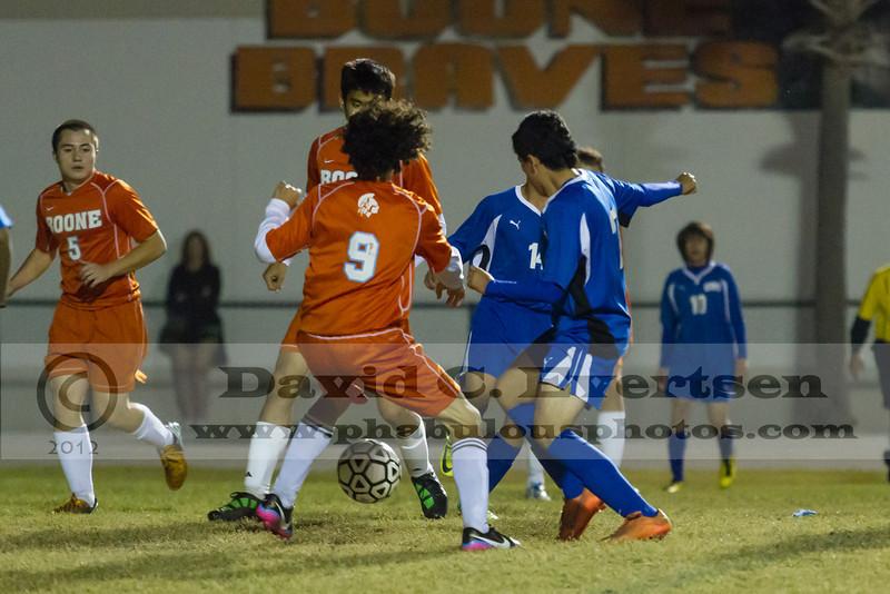 Osceola High School @ Boone Braves Varsity Soccer - 2012  DCEIMG-9200