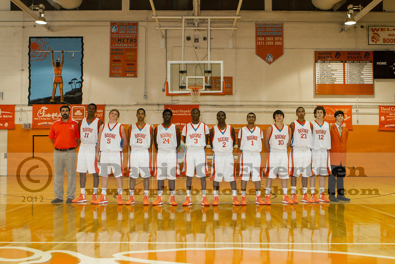 Boone Braves Mens Basketball Team Pictures - 2013  DCEIMG-1301