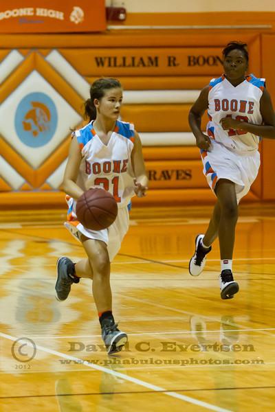 West Orange Warriors @ Boone Braves Girls Varsity Basketball - 2012  DCEIMG-0820