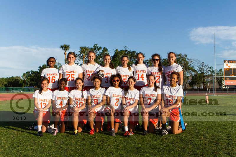 Boone @ Winter Park Girls Varsity Flag Football - 2013 - DCEIMG-4358