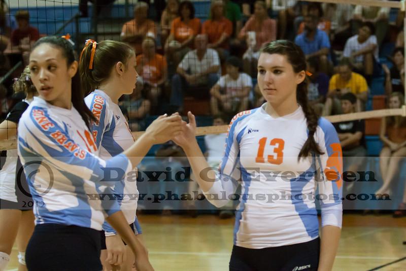 Boone Girls Varsity Volleyball Preseason vs Lake Mary - 2012 - DCEIMG-5107
