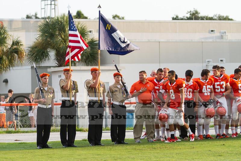 Olympia Titans @ Boone Braves Varsity Football Preseason - 2012 - DCEIMG-8135