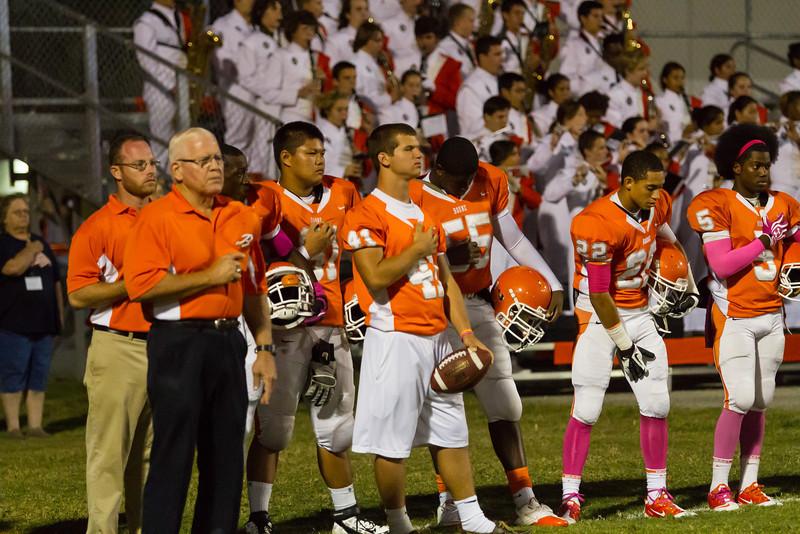 Ocoee High School@ Boone Braves Varisty Football  - 2012 DCEIMG-7169