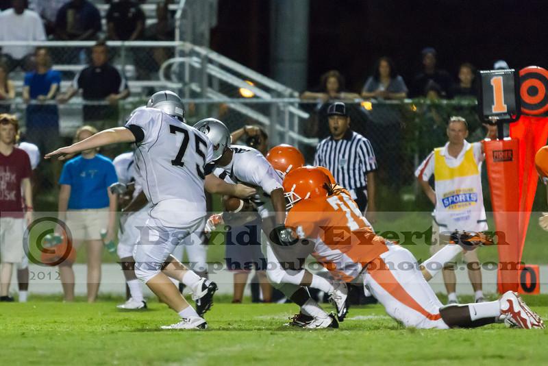 Olympia Titans @ Boone Braves Varsity Football Preseason - 2012 - DCEIMG-8489