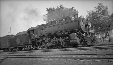 2013.010.CGW.S.0353--bill kuba 116 neg--CGW--steam locomotive 2-8-0 353--location unknown--no date