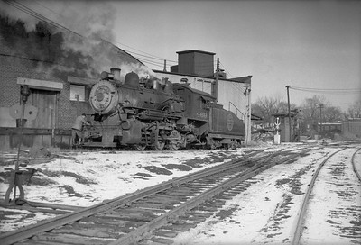 2013.010.CGW.S.0469--bill kuba 6x9 neg--CGW--steam locomotive 0-6-0 469 scene--Marshalltown IA--1949 0100