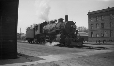 2013.010.CGW.S.0271--bill kuba 116 neg--CGW--steam locomotive 2-6-2 271 yard scene--Austin MN--no date